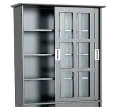 storage cabinet with glass door sliding door media cabinet media cabinet with glass door alluring media