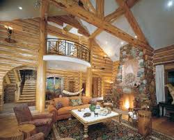 Log Home Interior Decorating Ideas For Fine Small Cabin Interior