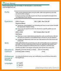 Gallery Of Examples Of Resume Title