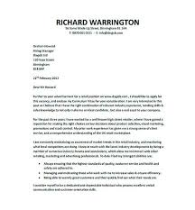 Retail Resume Cover Letter Pdf Template Free Download Resume Cover