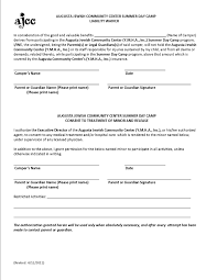 General Waiver Liability Form Image Release Form Wowcircletk 14