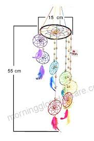 What Were Dream Catchers Used For Impressive Rooh Dream Catcher Rainbow Spiral Handmade Hangings For