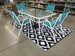 6 x9 indoor outdoor area rug patio rug mat rv camping reversible carpet beach