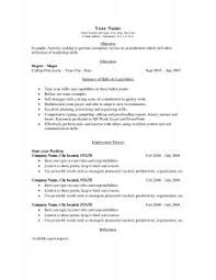 more resume templats resume templates examples sample basic resume pertaining to basic resume outline sample of basic resume
