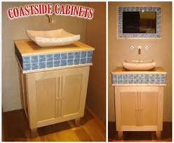bathroom vanity san francisco. Coastside Cabinets - Showroom Powder Bathroom Vanity Cabinetry San Francisco