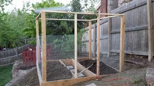 garden box framed in