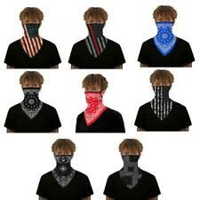 <b>Outdoor Cycling</b> Sports Neck Cover Ear <b>Triangle</b> Face <b>Mask</b> Tube ...