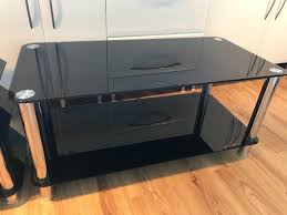 hygena matrix coffee table and console entertainment unit image 1 of 5