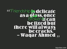 Quotes About A Broken Friendship Impressive A Collection Of Best 48 Broken Friendship Quotes Sayings With