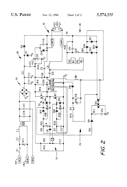 patent us5574335 ballast containing protection circuit for patent drawing