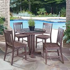 moroccan garden furniture. Moroccan Garden Furniture. Outdoor Furniture Fresh Home Styles Morocco Wood 5 Piece Round Patio L
