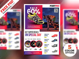 Sportswear Sale Flyer Psd Templates By Psd Freebies On Dribbble