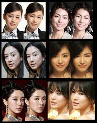 photoped photos of korean actresses with and without aegyo sal 6ae1
