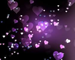 pink and purple heart backgrounds. Heart Background Digital Purple Bokeh Overlay By DorindaArt 500 Valentine To Pink And Backgrounds