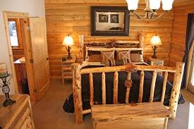 Log Cabin Furniture Ideas Bedroom Design Magnificent Decor