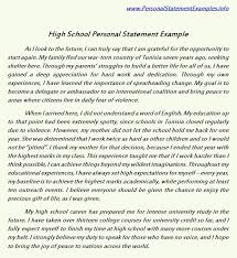 Phd Personal Statement Example Template   Best Business Template