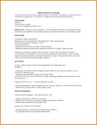 4 Resume Samples For Fresh Graduate Forklift Resume
