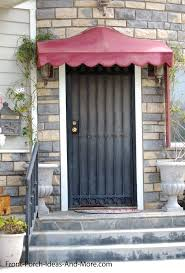 front door awningPorch Awnings  Aluminum Porch Awning  Awnings for Porch