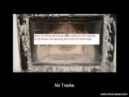 prefab fireplace doors installation avoid these problems brick anew you