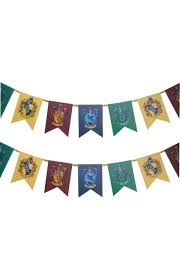 harry potter house bunting