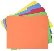 Amazon Com Amazonbasics Amz401 File Folders Letter Size 100