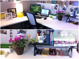 ideas to decorate office cubicle.  Decorate Office Desk Decor Ideas Decoration In Work With Design 6 And To Decorate Cubicle D