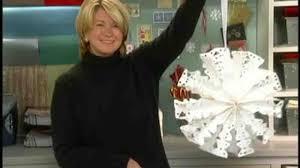 video making snowflakes martha stewart