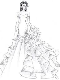 Small Picture 42 best WeddingBride Coloring Pages images on Pinterest Adult