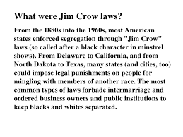 jim crow laws essay college paper help aycourseworkwzqc  jim crow laws essay