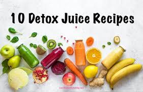 10 detox juice recipes weight loss