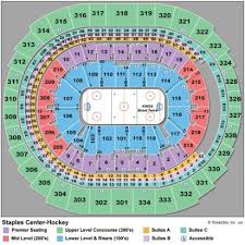 La Lakers Staples Center Seating Chart Breakdown Of The Staples Center Seating Chart Los Angeles