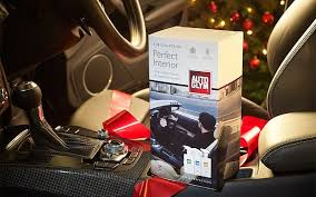 Packed with professional polishes and accessories, an Autoglym gift pack is  the perfect Christmas present for all motor enthusiasts