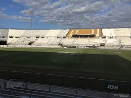 Spectrum Stadium Seating Chart Ucf Spectrum Stadium Section 109 Rateyourseats Com