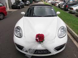 Wedding Car Decorate Wedding Car Decoration Ideal Weddings