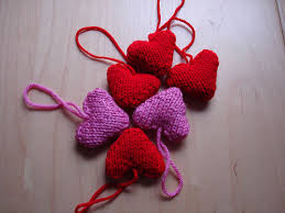 Knitted Heart Pattern Simple Heart Your Tree Mochimochi Land