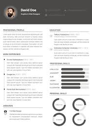Modern Resume Templates Clean Template Free Contemporary Word
