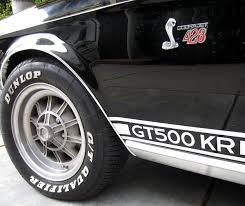 1968 Ford Mustang Shelby GT500 KR Cobra Jet 428 | eBay Motors Blog