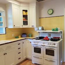 Old Kitchen Remodeling Carolyns Gorgeous 1940s Kitchen Remodel Featuring Yellow Tile