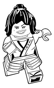 Coloring Pages Splendi Lego Ninjago Printable Jay Zx To Print Of Kai