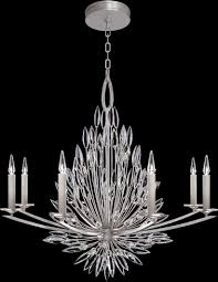 large transitional crystal chandeliers