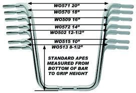 Wild 1 Ape Hangers 4wheelonline Com
