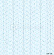 Isometric Graph Paper For 3d Design Buy This Stock Vector