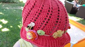 Free Crochet Hat Patterns For Toddlers Amazing Red Haired Amazona Russian Little Girls Cloche Hat Pattern The