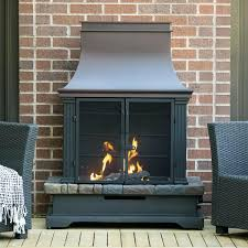 allen roth outdoor wood burning fireplace stone and bronze composite propane fun replacement parts