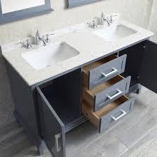 60 inch bathroom vanity double sink. Kitchen Single Bathroom Vanity 54 Inch Double Sink 60 U