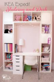 home office ikea expedit. Genius Shelving Unit And Desk Using An IKEA Expedit. Perfect Storage Solution For A Child\u0027s Home Office Ikea Expedit