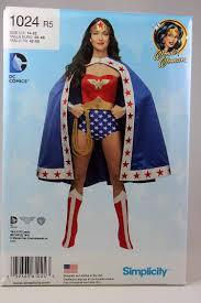 Wonder Woman Costume Pattern