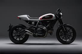 skunk machine a cafe twist for the ducati scrambler bike exif