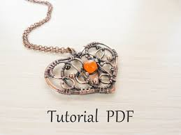 Wire Wrap Jewelry Patterns New Inspiration Design