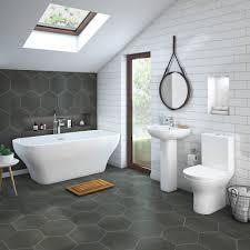 bathroom designs contemporary. Mirage Contemporary Bathroom Suite With Freestanding Bath | 8 Ideas Designs I